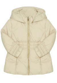Beżowa kurtka Mayoral na zimę