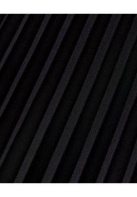 LA MANIA - Plisowana spódnica Lang w kolorze czarnym. Kolor: czarny. Materiał: materiał. Sezon: jesień. Styl: klasyczny #3