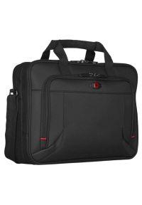 Czarna torba na laptopa Wenger