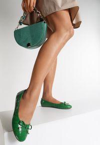 Zielone baleriny Renee