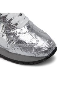Srebrne buty sportowe Calvin Klein Jeans