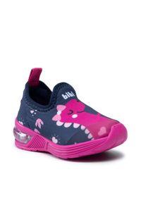 Bibi - Sneakersy BIBI - Space Wave 2.0 1132082 Naval/Pink New. Okazja: na co dzień. Kolor: niebieski. Materiał: materiał. Szerokość cholewki: normalna. Styl: casual