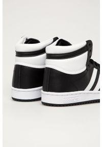 adidas Originals - Buty Top Ten. Nosek buta: okrągły. Zapięcie: sznurówki. Kolor: czarny. Materiał: guma