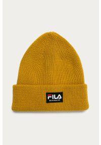 Oliwkowa czapka Fila