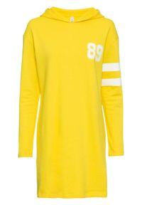 Żółta bluza bonprix długa