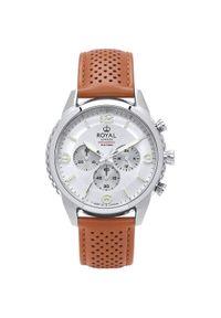 Srebrny zegarek Royal London elegancki