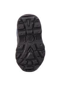 Czarne buty zimowe Kamik z cholewką, na spacer