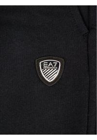 Czarne spodenki sportowe EA7 Emporio Armani #7