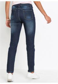 Jegginsy dżinsowe bonprix ciemny denim. Kolor: czarny #3