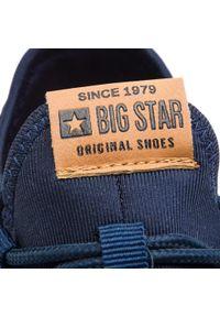 Niebieskie buty sportowe Big-Star na co dzień, z cholewką