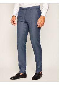 Niebieskie spodnie garniturowe JOOP!