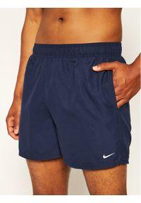 Niebieskie szorty Nike