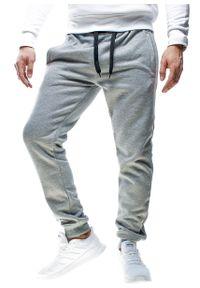 Szare spodnie dresowe Recea