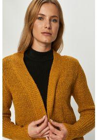 Oliwkowy sweter rozpinany Jacqueline de Yong na co dzień, casualowy