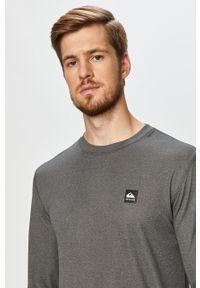 Szara koszulka z długim rękawem Quiksilver melanż