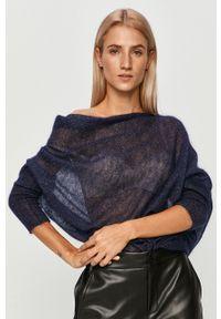 Niebieski sweter Liu Jo z długim rękawem, długi