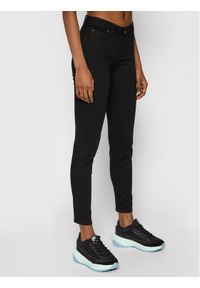 Lee Jeansy Skinny Fit Scarlett L526FS47 Czarny Skinny Fit. Kolor: czarny. Materiał: jeans