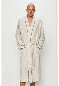 Szary szlafrok Polo Ralph Lauren polo