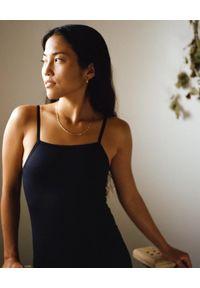 GIRLFRIEND COLLECTIVE - Czarny elastyczny kostium. Kolor: czarny. Materiał: tkanina, materiał. Długość: długie. Styl: sportowy, klasyczny