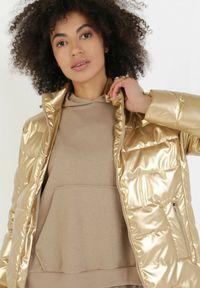 Złota kurtka przejściowa Born2be #6