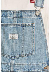 Niebieskie szorty Levi's® na co dzień, casualowe, gładkie