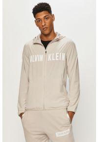 Kurtka Calvin Klein Performance casualowa, z kapturem, na co dzień