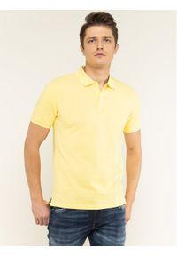 Żółta koszulka polo BOSS polo