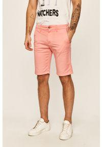 Pomarańczowe szorty Guess Jeans na co dzień, casualowe