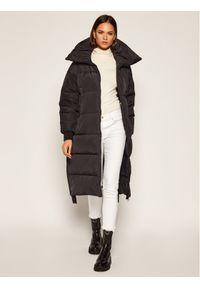 Czarny płaszcz zimowy Bomboogie