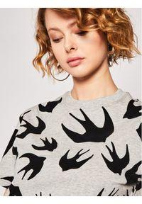 Szary t-shirt MCQ Alexander McQueen