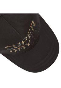 Superdry - Czapka z daszkiem SUPERDRY - Lineman Trucker Cap M9010017A Black 02A. Kolor: czarny. Materiał: poliester, materiał, bawełna #5