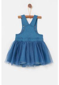 Sukienka OVS z aplikacjami, na ramiączkach