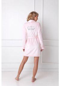 Różowy szlafrok Aruelle