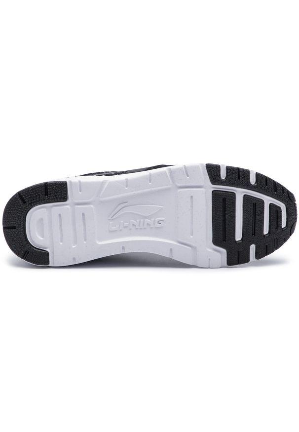 Czarne buty do fitnessu Li-Ning na co dzień, z cholewką
