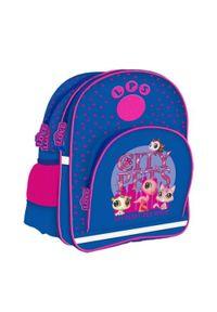 Starpak Plecak Littlest Pet Shop granatowy (LPS MID14). Kolor: niebieski