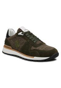 Bogner - Sneakersy BOGNER - New Livigno 1 B 12120741028 Olive 028. Kolor: zielony. Materiał: zamsz, materiał, skóra. Szerokość cholewki: normalna
