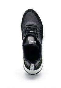 GOE - Buty. Nosek buta: okrągły. Zapięcie: sznurówki. Kolor: czarny. Materiał: guma
