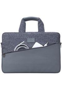 Szara torba na laptopa RIVACASE elegancka