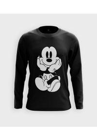MegaKoszulki - Koszulka męska z dł. rękawem Myszka Mickey. Materiał: bawełna. Wzór: motyw z bajki