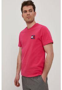 T-shirt Tommy Jeans na co dzień, casualowy