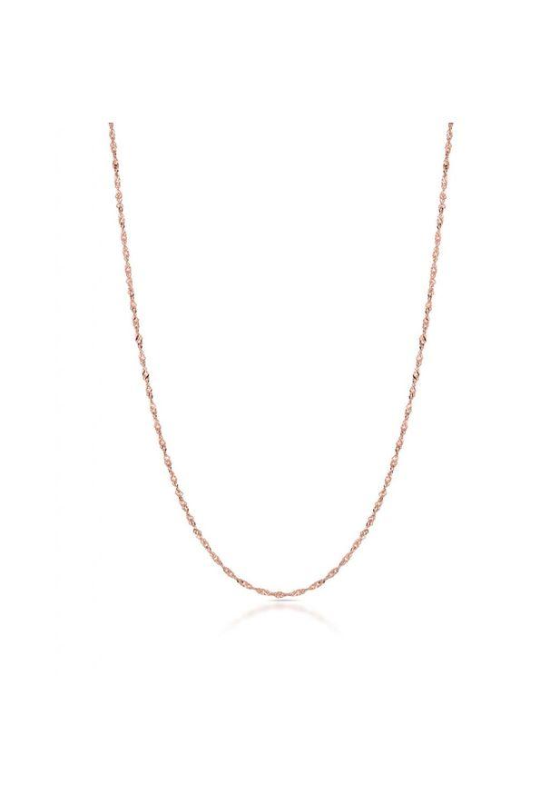 W.KRUK Wyjątkowy Złoty Łańcuszek - złoto 585 - ZVI/LS01R. Materiał: złote. Kolor: złoty. Wzór: ze splotem