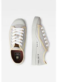 G-Star RAW - G-Star Raw - Tenisówki. Nosek buta: okrągły. Zapięcie: sznurówki. Kolor: czerwony. Materiał: guma