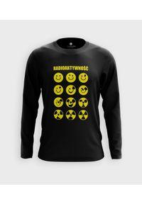 MegaKoszulki - Koszulka męska z dł. rękawem Radioaktywność. Materiał: bawełna