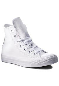 Białe buty sportowe Converse z cholewką, na co dzień