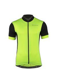 Koszulka rowerowa męska Nakamura Basica 43202005. Materiał: dzianina, włókno, skóra, materiał, poliester, tkanina, syntetyk. Wzór: gładki. Sport: kolarstwo