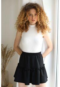 Czarna spódnica Nommo krótka