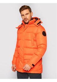 Pomarańczowa kurtka puchowa North Sails