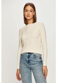 Beżowy sweter Polo Ralph Lauren na co dzień, z długim rękawem, polo