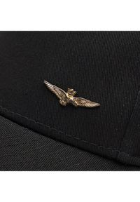 Czarna czapka z daszkiem Aeronautica Militare