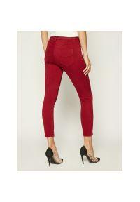 Czerwone jeansy slim Marella Sport sportowe